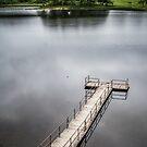 Kilchurn Castle jetty by 29Breizh33