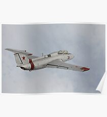 military jet in air Poster