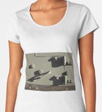 durable armored  door Women's Premium T-Shirt