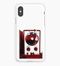 Retro Synth Audio Function Generator iPhone Case/Skin