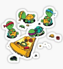 Baby Ninja Turtles T-Shirt Sticker