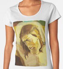 Crucified Christ Women's Premium T-Shirt