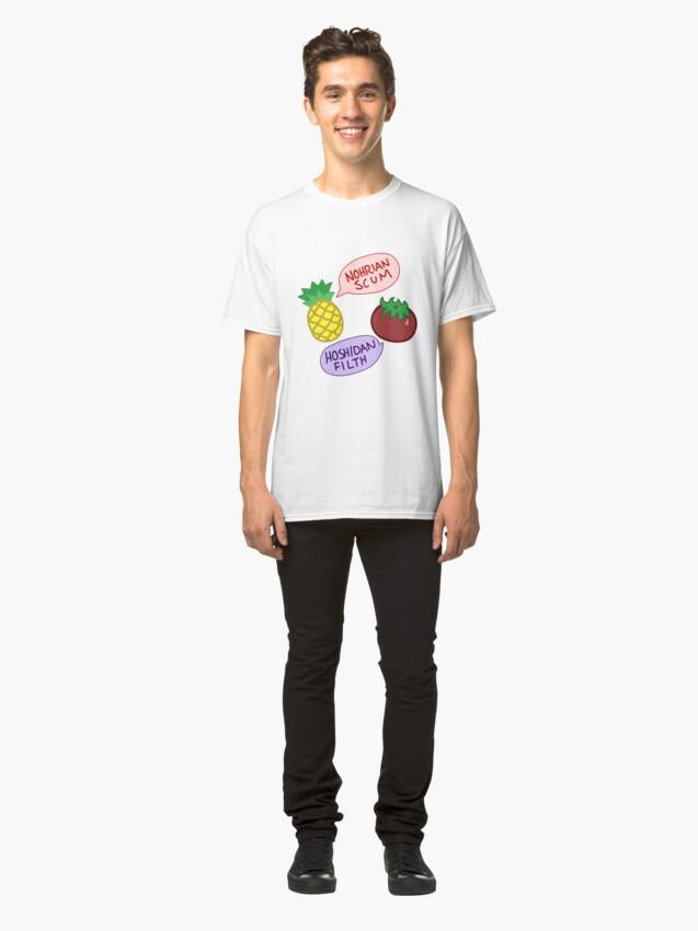 Alternate view of Nohrian Scum / Hoshidan Filth Classic T-Shirt