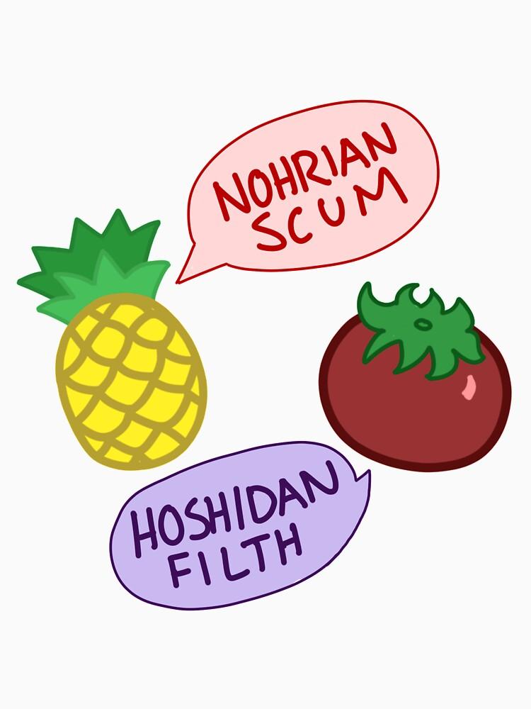 Nohrian Scum / Hoshidan Filth by shroomsoft