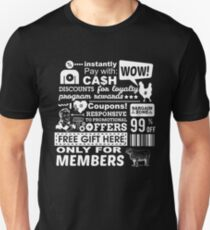 Funny Sales Discount Infographics  Unisex T-Shirt