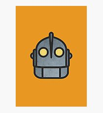 Iron Giant Head Photographic Print