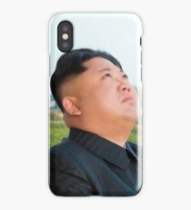 kim jong un iPhone Case/Skin