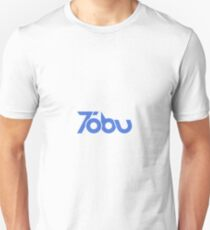 Tobu - Blue Logo Design Unisex T-Shirt