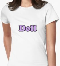 Doll Women's Fitted T-Shirt