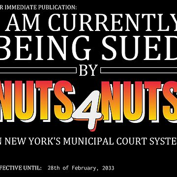 NUTS4NUTS Lawsuit by ralphodog
