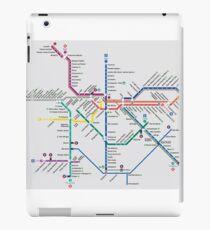 São Paulo Metro Map - Brazil iPad Case/Skin