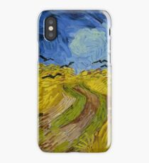 Wheatfield with Crows, Van Gogh iPhone Case/Skin