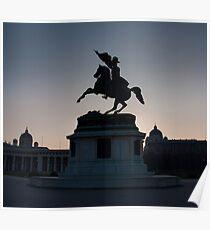 Vienna Heldenplatz - a historic square Poster