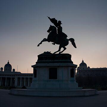 Vienna Heldenplatz - a historic square by stetre76