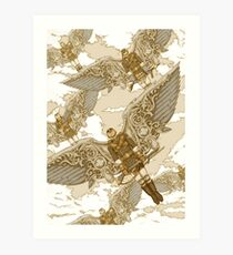 Peregrine Squadron on Maneuvers Art Print
