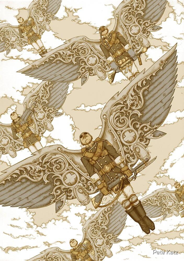 Peregrine Squadron on Maneuvers by Pete Katz