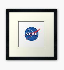 Nerd - NASA Framed Print