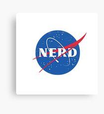 Nerd - NASA Canvas Print