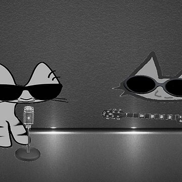 Cool Rock & Roll Cats  by JohnsCatzz