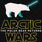 Polar Bear Arctic Wars Star Space Saber Light Parody by DesIndie