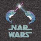 Nar Wars Narwhal Space Star Saber Light Parody by DesIndie