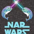 Nar Wars Narwhal Space Star Saber Light Parody (Unicorn of the Sea) by DesIndie