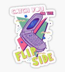 Flip Side Sticker