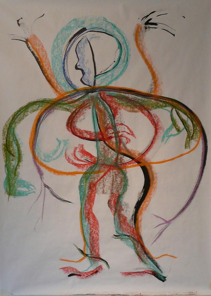 dancing mouvement by Isabelle Nivet