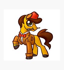 11th Dr. Whooves Photographic Print