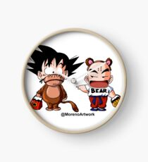 Kid Goku & Krillin Halloween Clock