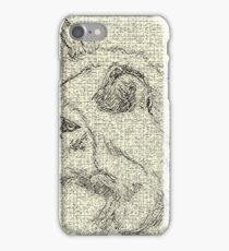Gray Wolf ~ Out Of The Past, Into The Future iPhone Case/Skin