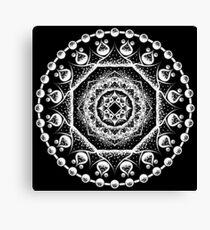 Mandala 002 White Edition Canvas Print