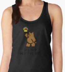 8-Bit Bear - Play with Me Women's Tank Top