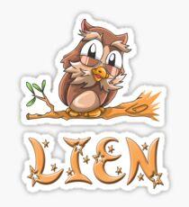 Pegatina Lien Owl