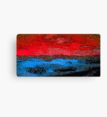 Picture 2015060 Justin Beck Icy Sunset Canvas Print