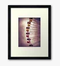 Cedar Point - Giant Wheel Framed Print