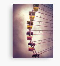Cedar Point - Giant Wheel Metal Print