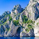 The White Grotto of the island of Capri, Italy #art #landscape #decor #photography #Capri #Italy #Amalfi #myaspiringsoulfullife by Jacqueline Cooper