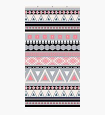 Pink Tribal Pattern Photographic Print