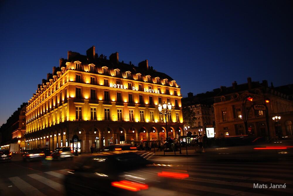 Hotel du Louvre by Mats Janné