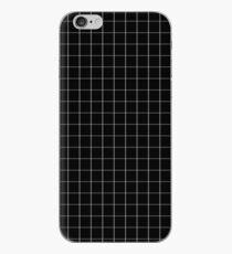 Schwarz-Weiß-Raster iPhone-Hülle & Cover