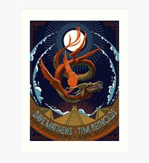 Dave Matthews Band January 13, 2018 Riviera Maya, Mexico  Art Print