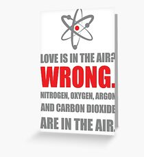 The love paradox. Greeting Card