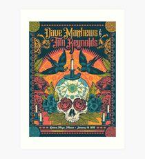 Dave Matthews Band 14. Januar 2018 Riviera Maya, Mexiko Kunstdruck