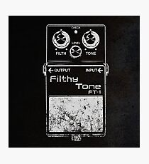Filthy Tone FT-1 Photographic Print