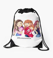 Anime Black Pink K-pop Drawstring Bag