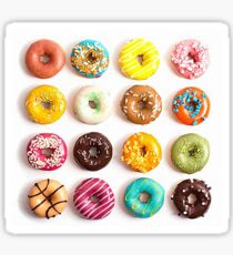 Donuts = Happiness  Sticker