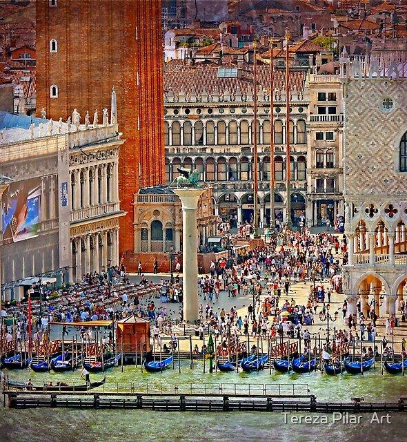 Venice. Piazza S.Marco.... by terezadelpilar ~ art & architecture