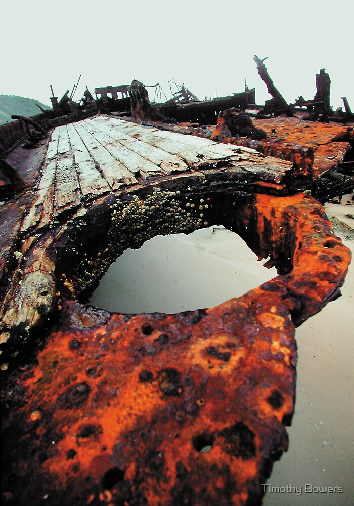 Shipwreck #5 by Timothy Bowers