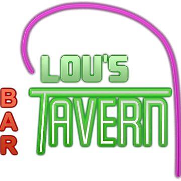 Lou's Tavern - Fight Club by timyewest